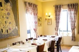 חדר אוכל וילה גלילי